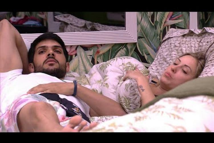 """Vaza vídeo de Jéssica e Lucas em suposto momento íntimo no """"BBB18"""""""