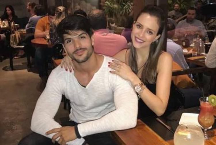 Lucas e noiva - Reprodução/Instagram