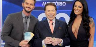 Marcos Harter - Silvio Santos - Monique Amin(Lourival Ribeiro/SBT)Marcos Harter - Silvio Santos - Monique Amin(Lourival Ribeiro/SBT)