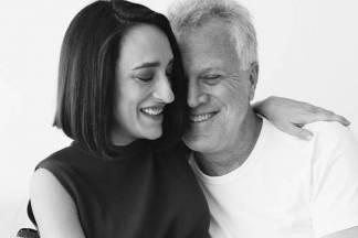 Maria Prata e Pedro Bial/Instagram