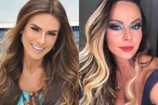 Nicole Bahls e Viviane Araújo/Instagram