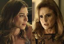 O Outro Lado do Paraiso - Lívia e Sophia (Reprodução/TV Globo)