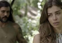 O Outro Lado do Paraiso - Mariano e Lívia (Reprodução/TV Globo)