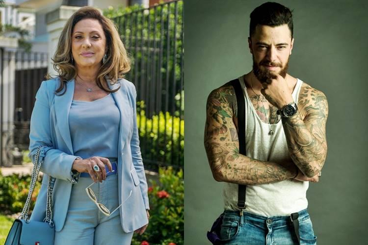 O Outro Lado do Paraíso - Nádia e Odair (Raquel Cunha/TV Globo)