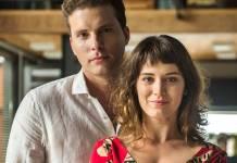 O Outro Lado do Paraiso - Patrick e Clara (Globo/Raquel Cunha)
