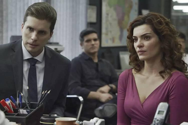O Outro Lado do Paraiso - Patrick e Leandra (Reprodução/TV Globo)