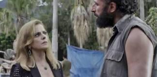 O Outro Lado do Paraiso - Sophia e Rato (Reprodução/TV Globo)