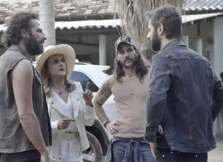 O Outro Lado do Paraiso - Vinicius se esconde no garimpo (Reprodução/TV Globo)