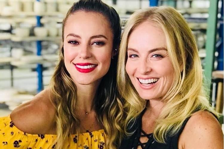 Paolla Oliveira e Angélica/Instagram