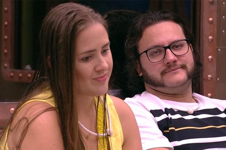 Patrícia e Diego - Reprodução/Gshow