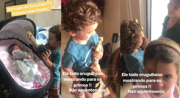Pedro - Filho de Patricia Abravanel/Instagram