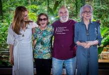 Poliana Abritta reúne Laura Cardoso, Lima Duarte e Fernanda Montenegro (Globo/ Raquel Cunha)