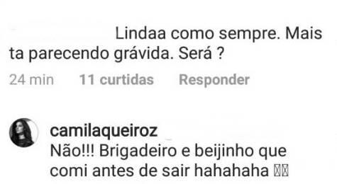 Post - Camila Queiroz/Instagram