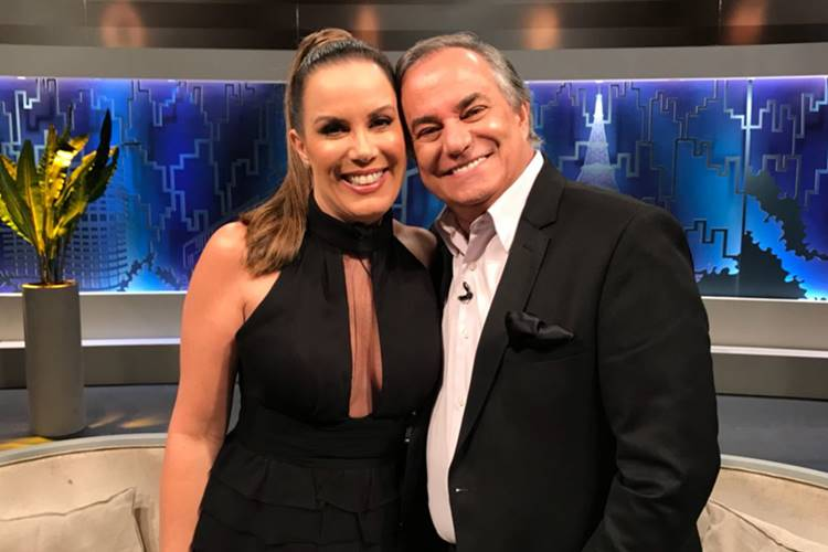 Regina Volpato e Ronnie Von/Divulgação