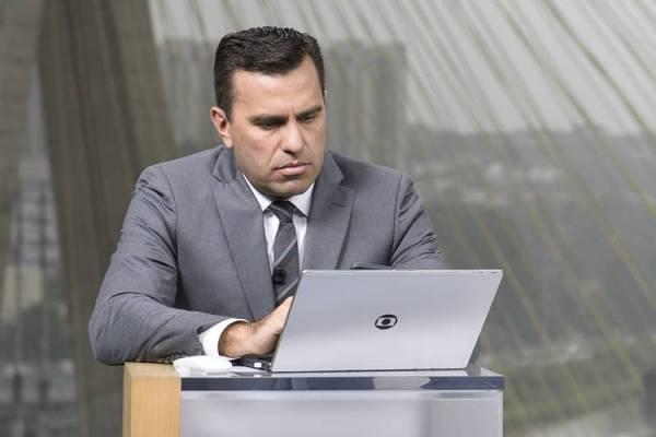 Rodrigo Bocardi (Globo/Ramón Vasconcelos)