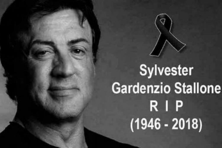 Não, Sylvester Stallone não morreu