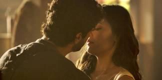 Tempo de Amar - Inácio e Maria Vitória se beijam (Globo/João Cotta)