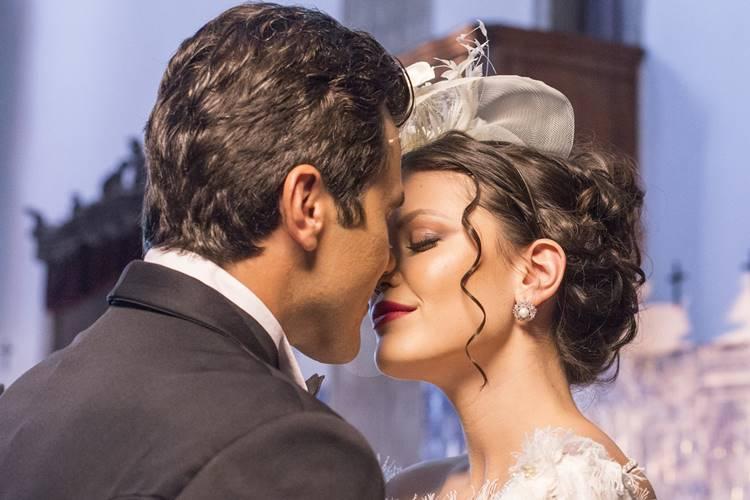 Tempo de Amar - Maria Vitória e Vicente se casam (Globo/Marília Cabral)