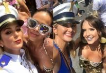Ticiane Pinheiro - Bruna Marquezine - Larissa Manoela/Instagram