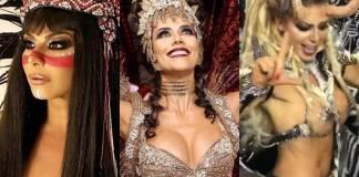 Viviane Araújo - Dani Albuquerque - Sheila Mello (Instagram/agenciabrazilnews)