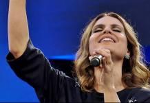 """""""Não posso dizer que concordo"""", diz Aline Barros sobre homossexualidade (Reprodução/Rede TV!)"""