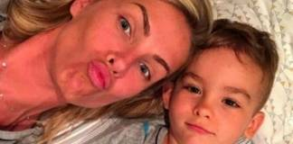 Ana Hickmann e o filho - Reprodução/Instagram