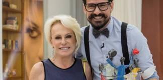 Ana Maria e Jean(Globo / Fábio Rocha)