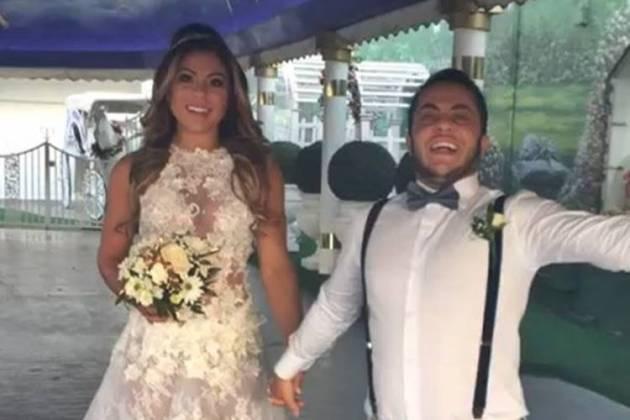 Thammy Miranda e Andressa Ferreira se casam em Las Vegas/Instagram