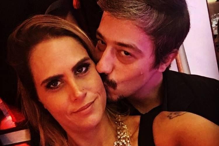 Aritana com o marido/Instagram