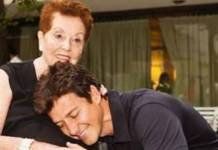 Rodrigo Faro com a sua avó - Reprodução/Instagram