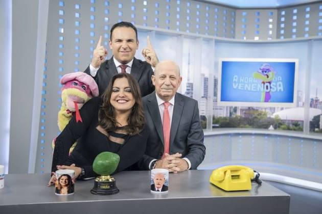 Balanço Geral em primeiro lugar isolado com 'A Hora da Venenosa' (Edu Moraes/ Record TV)
