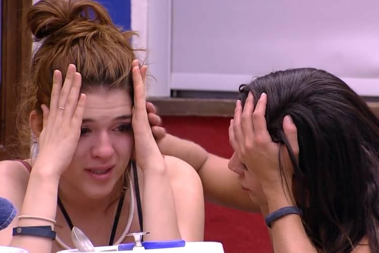BBB18 - Ana Clara chora (Reprodução/TV Globo)