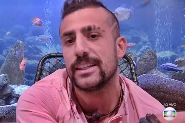 BBB18 - Kaysar (Reprodução/TV Globo)