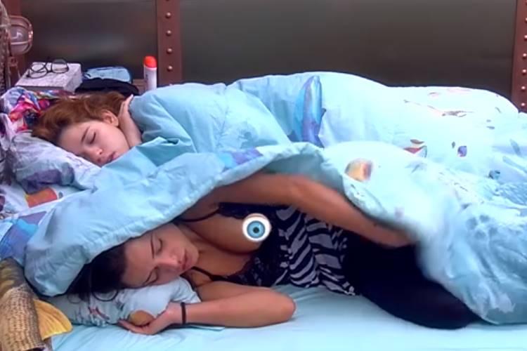 BBB18 - Paula se descuida (Reprodução/TV Globo)