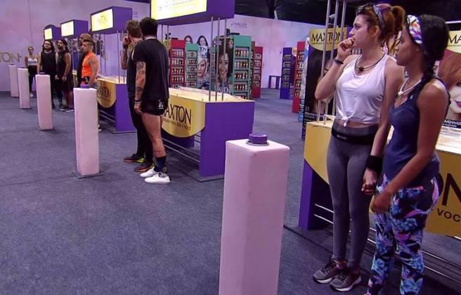 BBB18 - Prova do Líder Circuito Embelleze (Reprodução/TV Globo)