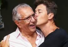 Carlos Alberto de Nóbrega e Rodrigo Faro - Divulgação