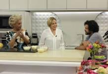 Claudete Troiano recebe Dhu Moraes (Divulgação/TV Aparecida)
