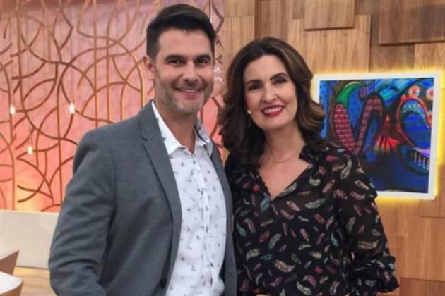 Dr Fernando Gomes e Fátima Bernardes-Reprodução/Divulgação