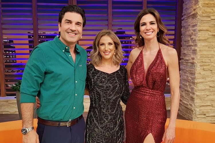 Lu Gimenez elogia ex-marido em programa gravado antes da separação