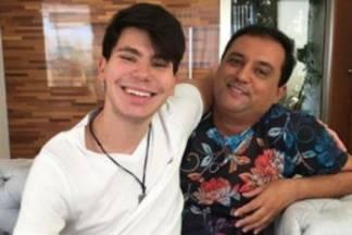 Geraldo Luis e o seu filho/Instagram