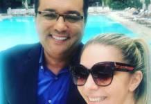 Geraldo Luís e Luciana Lacerda - Reprodução/Instagram