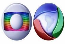 Globo e Record TV - Logo - Divulgação