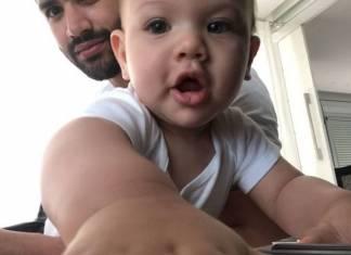 Filho de Gusttavo Lima dá show de fofura/Instagram
