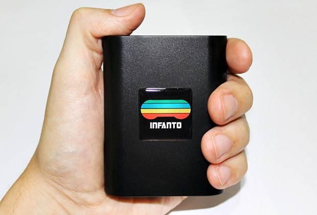 Infanto - O video game com mais de 13 mil jogos tem o tamanho de um cartucho