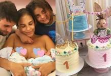 Ivete comemora um mês das filhas/Instagram