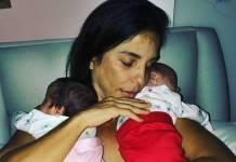 Ivete Sangalo posta foto com as gêmeas e fala sobre saudade dos fãs/Instagram