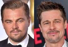 Leonardo di Caprio e Brad Pitt/Instagram
