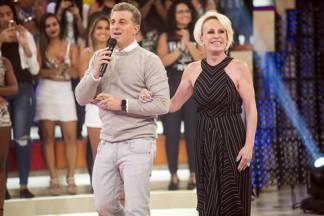 Luciano Huck e Ana Maria Braga (Globo/Mauricio Fidalgo)