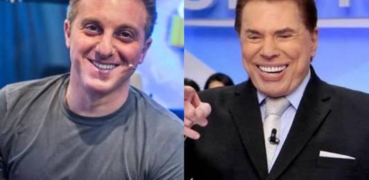Luciano Huck tem encontro secreto com Silvio Santos (Reprodução/Gshow/Lourival Ribeiro/SBT)