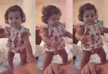 Bruno Gissoni compartilha momento fofo com a filha Madalena/Instagram